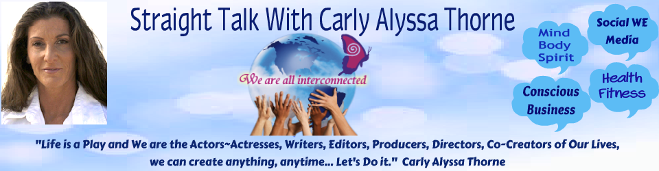 Straight Talk with Carly Alyssa Thorne